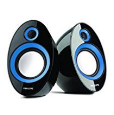 Buy Philips SPA-60 2.0 Speaker System (Blue) from Amazon