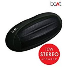 BoAt Rugby-BLK Wireless Portable Stereo Speaker (Black) for Rs. 1,499