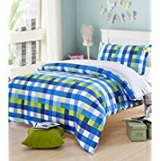 Ahmedabad Cotton Comfort 160 TC Cotton Single Bedsheet with 1 for Rs. 299