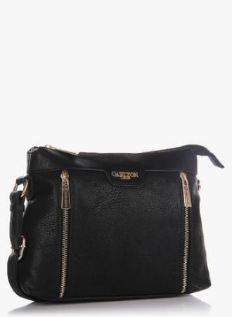 Buy Carlton London Black Sling Bag from Jabong - Dealplatter.com