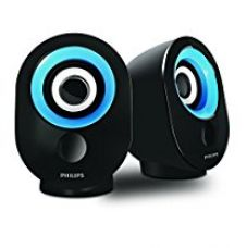 Philips SPA-50B/94 speaker with USB Plug (Blue) for Rs. 542