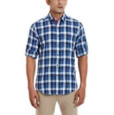 Buy Wills Sports Men's Casual Shirt from Amazon