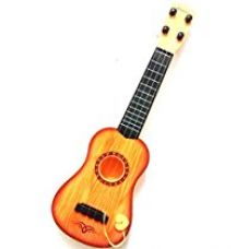ToyMart Guitar With 4 Strings Wood Finish Best Sound Quality for Rs. 573