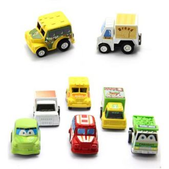 6pcs Mini Pull Back Car Set for Rs. 59