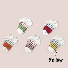 Buy Unicorn Soft Baby Socks - Yellow for Rs. 58