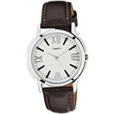 Buy Timex Analog Silver Dial Men's Watch - TW002E101 from Amazon