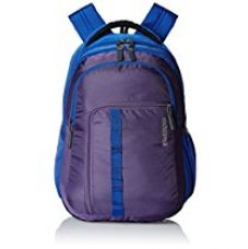 Buy American Tourister 27 Lts Comet Purple Laptop Backpack (Comet 03_8901836135305) from Amazon