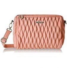 Buy Diana Korr Women's Sling Bag (Pink) (DK55SPNK) from Amazon
