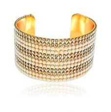 Best Valentine Gifts :YouBella Valentine Collection Designer Crystal Bracelet Bangle for Women and Girls for Rs. 269