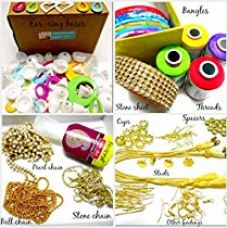 Am Goelx Silk Thread Jewelery,Making Fully Loaded Box With All Accessories for Rs. 499