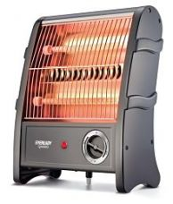 Eveready QH800 800W Quartz Heater Black for Rs. 1,099