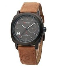 Curren Brown Analog Watch for Rs. 193