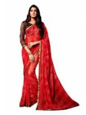 Buy EthnicFiesta Chiffon Embroidered Saree (EF22782),  for Rs. 745