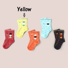 Get 29% off on Shetland Soft Baby Socks - Yellow