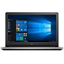 Dell Inspiron 15-5559 15.6-inch Laptop (Core i3 6th Gen -6100U/4GB/1TB/Windows 10/Integrated Graphics/With Pre-Loaded MS Office 2016),Silver for Rs. 34,990