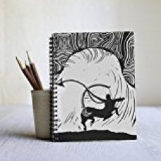 Store Indya Hardbound Writing Diary Journal Hand Crafted with Zodiac Themed Design for Rs. 249