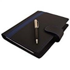 Buy COI black and blue undated business planner /diary with pen with Free Pen from Amazon