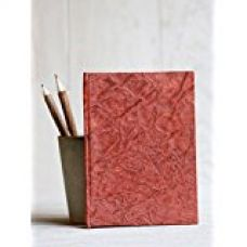 Store Indya Pocket Diary Journal Notebook Handcrafted with Unlined Eco-friendly Pages - 6 X 4 Inches for Rs. 135