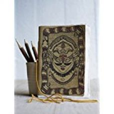 Store Indya Maha Kumbh Festival Themed Handmade Journal Diary Notebook For Men & Women 48 decal pages for Rs. 285