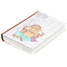 Buy Store Indya Religious Ganesha Print Handmade Diary Journal Hand Crafted With Hardbound Cover from Amazon