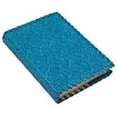 Store Indya Handmade Turquoise Blue Leather Diary 8x6 Inches With 100 Unlined Pages Sketch Drawing Note Book Diary Notepad Personal Journal for Rs. 465