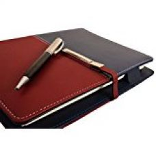 Buy COI blue and red unique business undated planner / diary with pen with Free Pen from Amazon