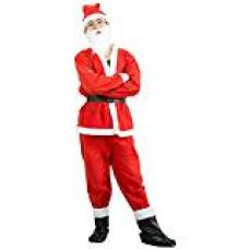 Buy Toyshine Christmas Dress for children Size No. 1 (For ages 0 to 1 Year) - Santa Claus Dress Costume from Amazon
