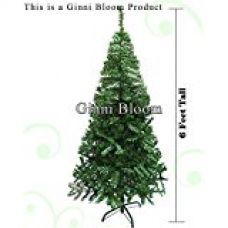 Buy Ginni Bloom Artificial Christmas Tree (Green 6 Feet Tall) from Amazon