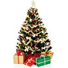 Decorative Buckets:Christmas Decorations : Set Of 50 Pcs Christmas Tree Ornament Assorted Pack for Rs. 379
