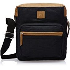 Buy North Star Canvas Black and Tan Canvas Tote Bag (9046229) from Amazon