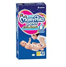 Buy Mamy Poko Small Size Baby Diapers (42 Count) from Amazon