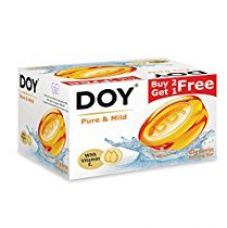 Doy Glycerin Transparent Pure Mild Soap (125g) (Pack of 3) for Rs. 110