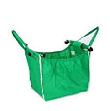 Insasta Grab Bag Pack Set Of 2 With 2 Clip To Shopping Cart Reusable Portable for Rs. 299
