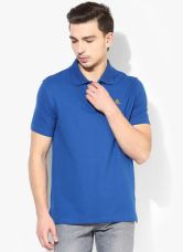Adidas Wj Ss Blue Polo T-Shirt for Rs. 850