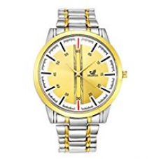 Orlando Chronograph Look Analogue Gold Dial Mens Watch - W1050GGXXZ for Rs. 449