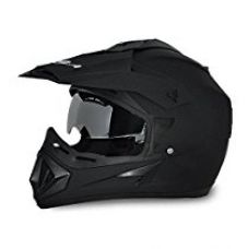 Vega Off Road OR-D/V-DK_M Motocross Helmet (Dull Black, M) for Rs. 1,698