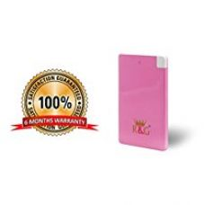 Buy R&G 2500 mAh - World's Slimmest Automatic Power Bank - Pink - With Built-in Micro USB Cable (Weighs Just 55 Grams !! ) from Amazon