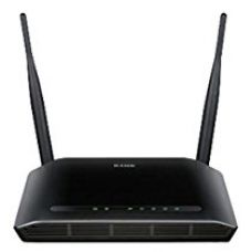 D-Link DIR-615 Wireless-N300 Router (Black) for Rs. 1,199