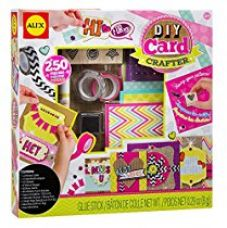 Buy Alex Toys DIY Craft Crafter Card, Multi Color from Amazon