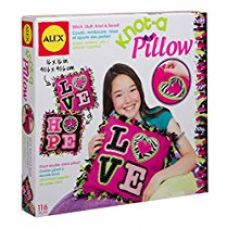 Alex Toys Craft Giant Knot and Stitch Pillow, Multi Color for Rs. 1,299