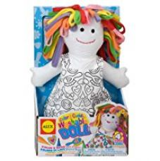 Buy Alex Toys Color and Cuddle Washable Doll from Amazon