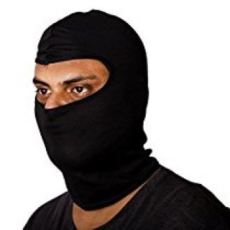 Autofy MASK0002 Face Mask for Bike Riders (Black, Free Size) for Rs. 179