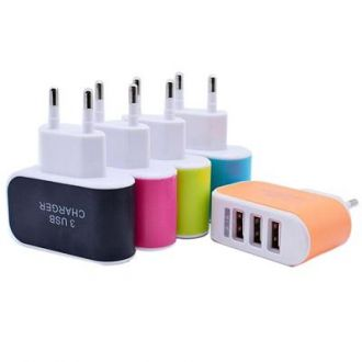 Get 82% off on TIMBER 2.1 3 PORT WALL CHARGER ( ASSORTED)