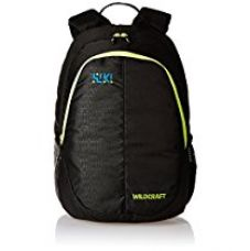 Buy Wildcraft 27 Ltrs Black Casual Kids Backpack (Bricks 1) from Amazon