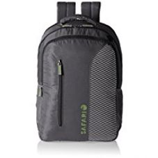 Buy Safari 30 Ltrs Grey Casual Backpack (Emerge-Grey-CB) from Amazon