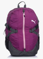 Buy Puma Apex Purple Backpack for Rs. 1299
