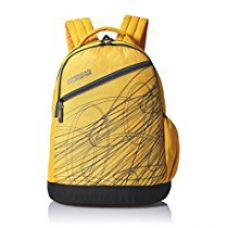 American Tourister Synthetic 21 Ltrs Yellow Casual Backpack (65W (0) 81 001) for Rs. 1,075
