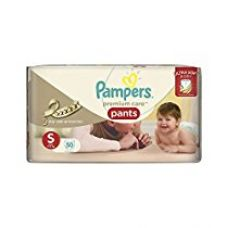 Pampers Premium Care Small Size Diaper Pants (50 Count) for Rs. 646