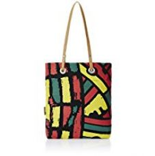 Kanvas Katha Women's Tote Bag (Black) (KKST001B) for Rs. 379