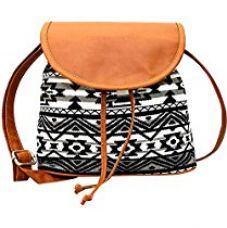 Kleio Women's Sling Bag (Multicolor,Bnb316Ly-Bwb) for Rs. 415